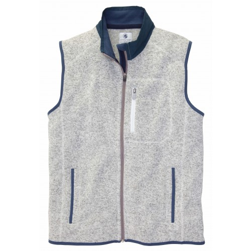 Getty Vest: Light Grey